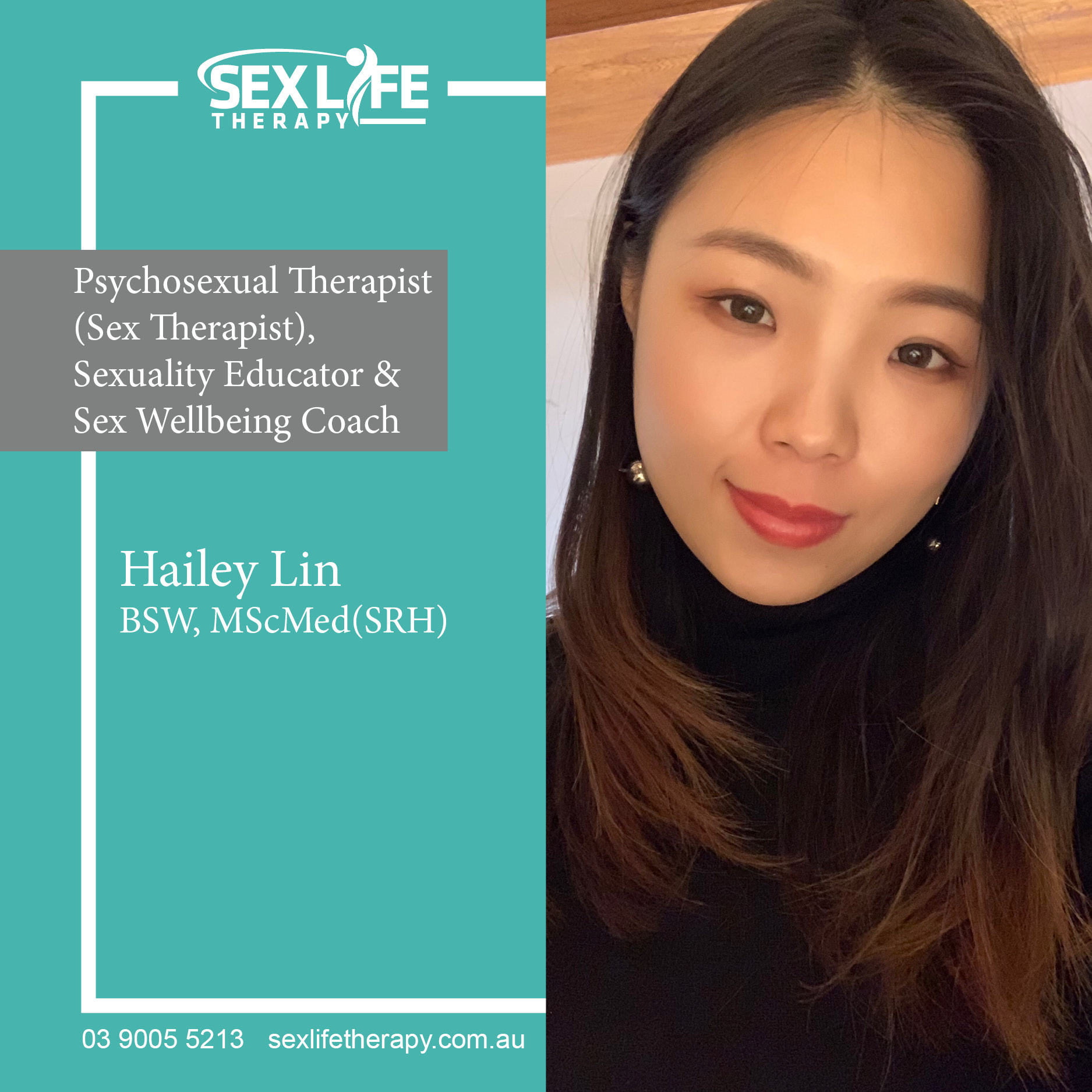 Hailey Lin @ Sex Life Therapy