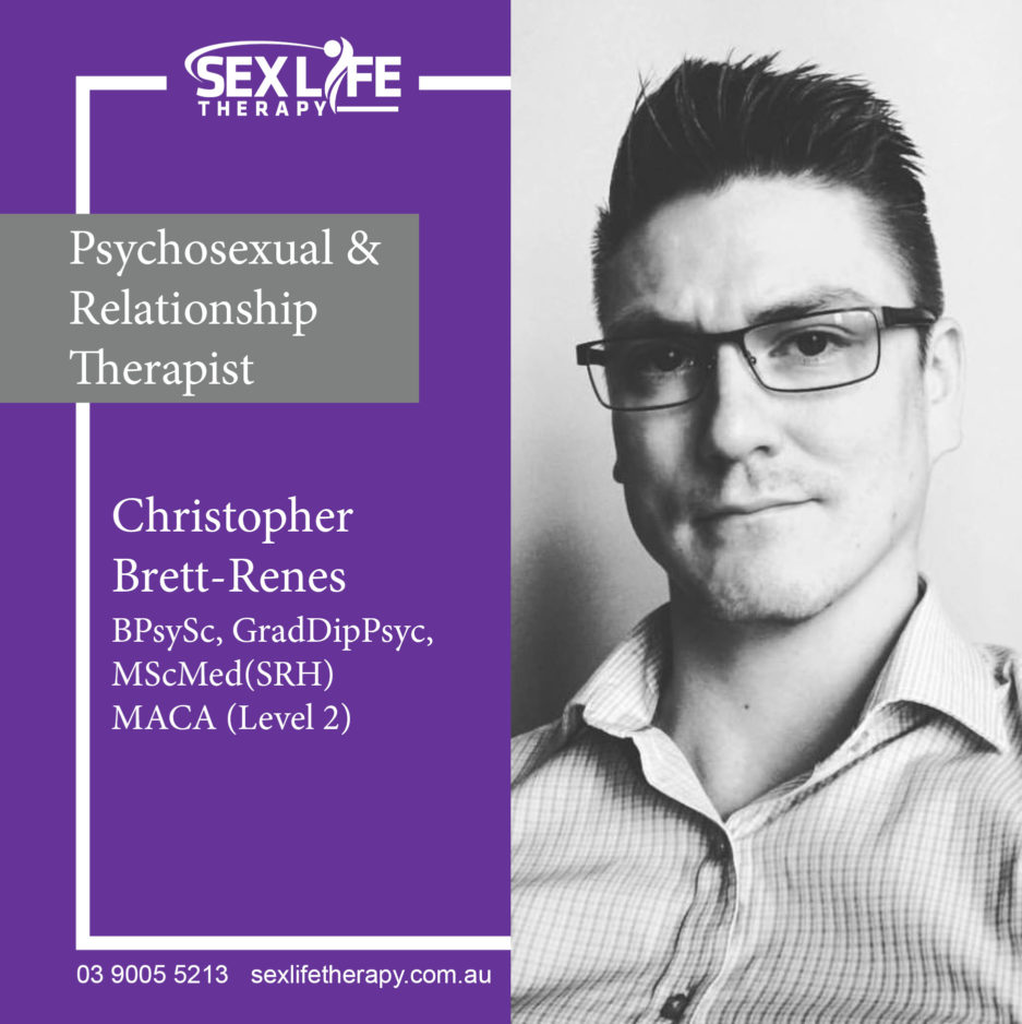 Christopher Brett-Renes @ Sex Life Therapy